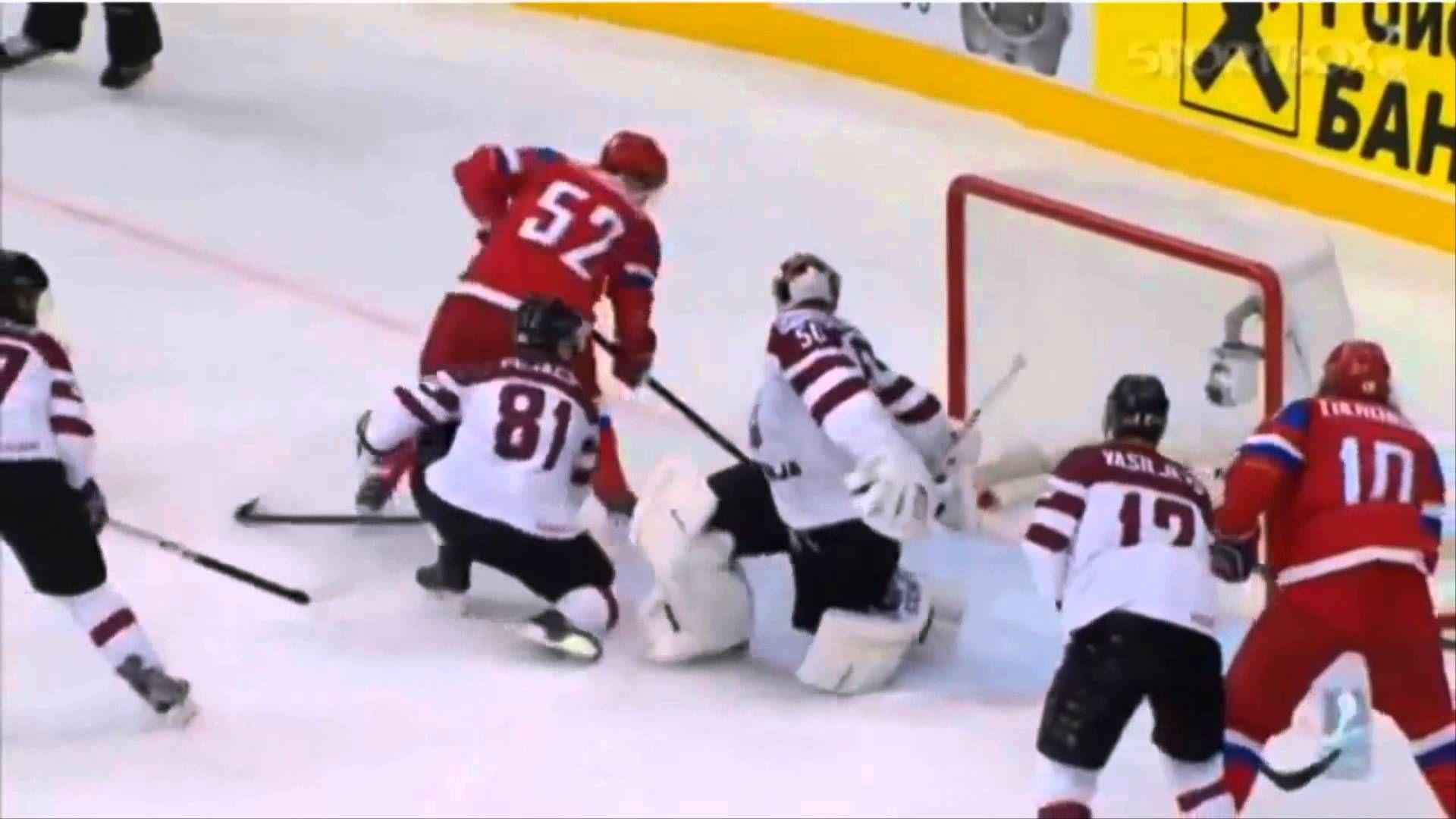 Отчёт о полуфинальном хоккейном матче Чемпионата мира-2014, сборная