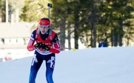 Российская биатлонистка упустила лидерство и медаль в масс-старте