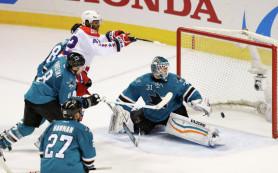 «Вашингтон» в овертайме победил «Сан-Хосе»в матче НХЛ
