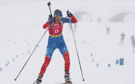 Биатлонистки юниорской сборной РФ завоевали серебро в эстафете на ЧМ