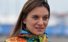 Исинбаева официально объявит о возвращении в большой спорт 12 февраля