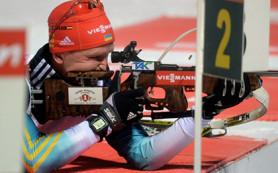 Украинский биатлонист впервые в истории заработал красную майку лидера