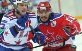 Полуфинальный матч между ЦСКА и СКА растянулся на шесть периодов
