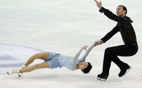 Фигуристы Кавагути и Смирнов заняли четвертое место в короткой программе на ЧМ