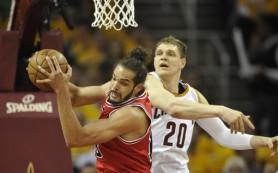 «Кливленд» уступил «Чикаго» в матче плей-офф НБА