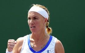 Кузнецова обыграла Стосур и вышла в 1/4 финала теннисного турнира в Мадриде