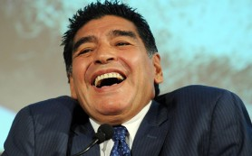 Диего Марадона выставит кандидатуру на пост президента ФИФА