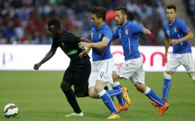 Итальянские футболисты проиграли впервые с ЧМ-2014
