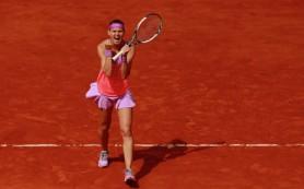 Чешская теннисистка Шафаржова вышла в полуфинал «Ролан Гаррос»