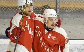 Хоккейный «Спартак» уступил в первом матче после возрождения