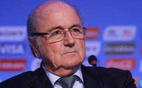 Блаттер заявил об уходе в отставку после конгресса ФИФА