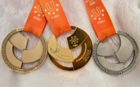 Россия вышла в лидеры по общему числу медалей на Универсиаде