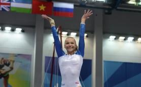 Российская гимнастка Мария Пасека выиграла золото Универсиады