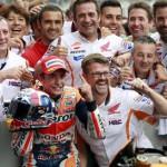 Испанский мотогонщик Марк Маркес выиграл Гран-при Индианаполиса MotoGP