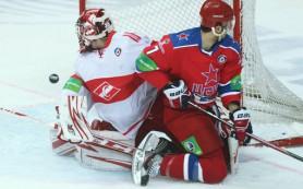 ЦСКА обыграл «Спартак» на хоккейном Кубке мэра Москвы
