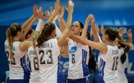 Российские волейболистки одержали четвертую подряд победу на КМ