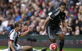 «Челси» с трудом взял три очка в матче против «Вест-Бромвича»