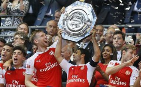 «Арсенал» второй раз подряд выиграл Суперкубок Англии