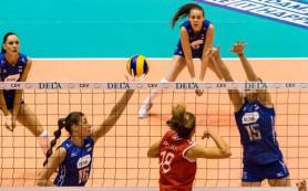 Женская сборная России по волейболу проиграла Хорватии на чемпионате Европы