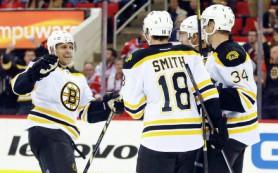 «Бостон» обыграл «Нью-Джерси» в предсезонном матче НХЛ