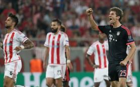 «Бавария» одержала уверенную победу над «Олимпиакосом»