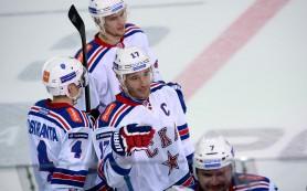 СКА обыграл ЦСКА в матче КХЛ