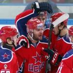 ЦСКА вернул себе лидерство в КХЛ