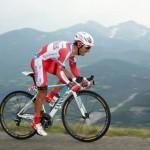 Велогонщик российской команды «Катюша» финишировал вторым на «Вуэльте»