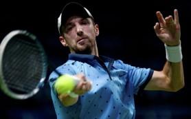 Теннисист Кравчук не смог выйти в основную сетку Кубка Кремля