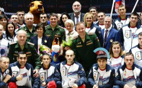 Российские военные спортсмены поставили новый рекорд на играх в Корее