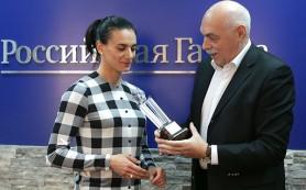 Елене Исинбаевой вручили приз от журналистов Европы