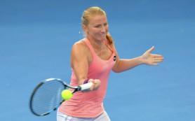 Алла Кудрявцева не смогла выйти в основную сетку теннисного турнира в Пекине