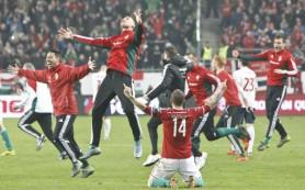 Сборная Венгрии по футболу вышла на чемпионат Европы