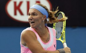 Кузнецова разгромила Гантухову в первом раунде Australian Open