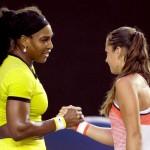 Дарья Касаткина крупно уступила Серене Уильямс на Australian Open