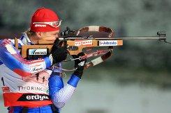 Россиянки заняли весь пьедестал в гонке преследования на шестом этапе Кубка IBU