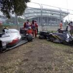 """В сети появилось видео аварии с болидом Алонсо на этапе """"Формулы-1"""""""