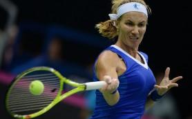 Светлана Кузнецова победила лучшую теннисистку мира Серену Уильямс