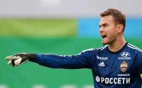 Акинфеев занял 14-е место в списке лучших вратарей мира
