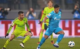 «Зенит» обыграл дома ЦСКА со счетом 2:0
