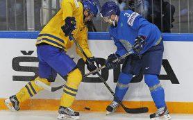 Шведы переиграли Казахстан со счетом 7:3