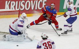 Российские хоккеисты обыграли Норвегию с сухим счетом