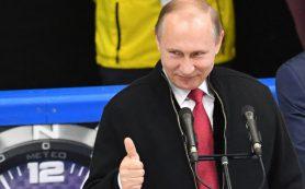 Владимир Путин вручил канадцам кубок ЧМ-2016