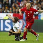 Германия и Польша сыграли вничью на чемпионате Европы