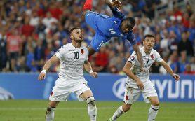 Сборная Франции обыграла Албанию и вышла в плей-офф Евро-2016
