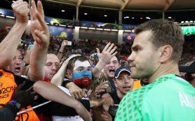 Акинфеев вошел в пятерку лучших вратарей группового этапа Евро-2016
