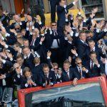 Сборную Исландии на родине встретили как героев