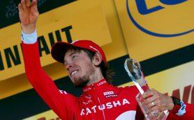 Российский гонщик выиграл этап «Тур де Франс»