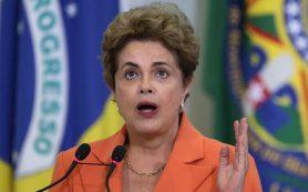 Дилма Руссефф пропустит открытие Олимпийских игр в Рио