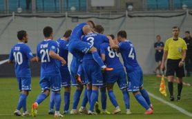 «Динамо» обыграло «Балтику» и возглавило турнирную таблицу ФНЛ